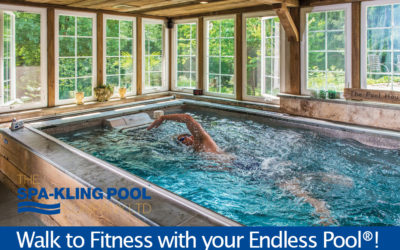 Walk to Fitness with your Endless Pool®!