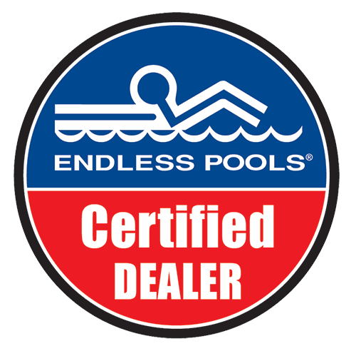 Endless Pools certified dealer logo
