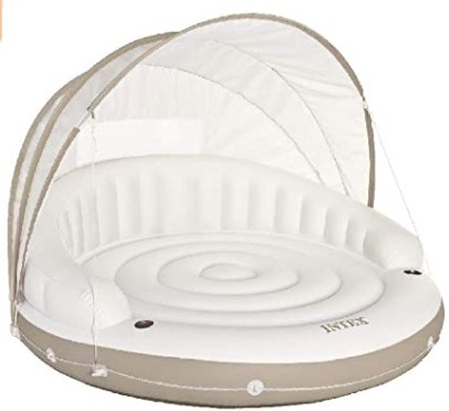 Canopy Inflatable Lounger